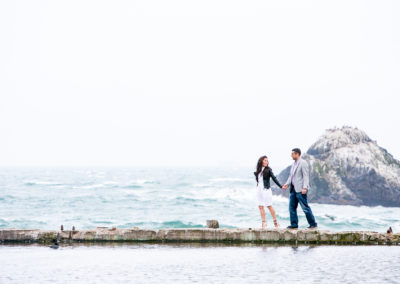 006 - sutro baths bay area engagement session