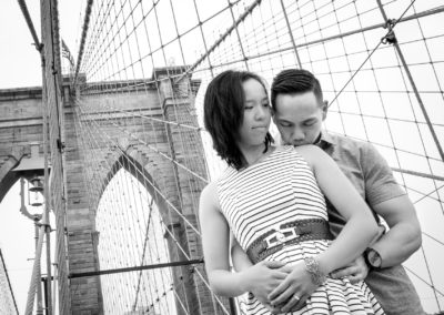 016 - brooklyn bridge new york city engagement session photos