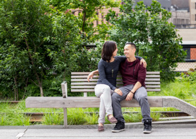 020 - highline new york city engagement session photos