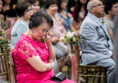 040 - mother crying vellano country club wedding photos