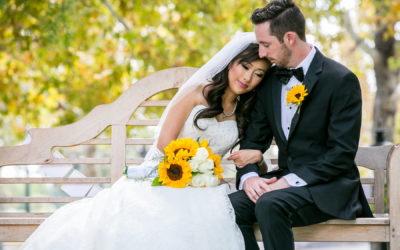 Sunflower themed Wedding at Summit House