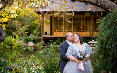 Wedding at Storrier Stearns Japanese Garden