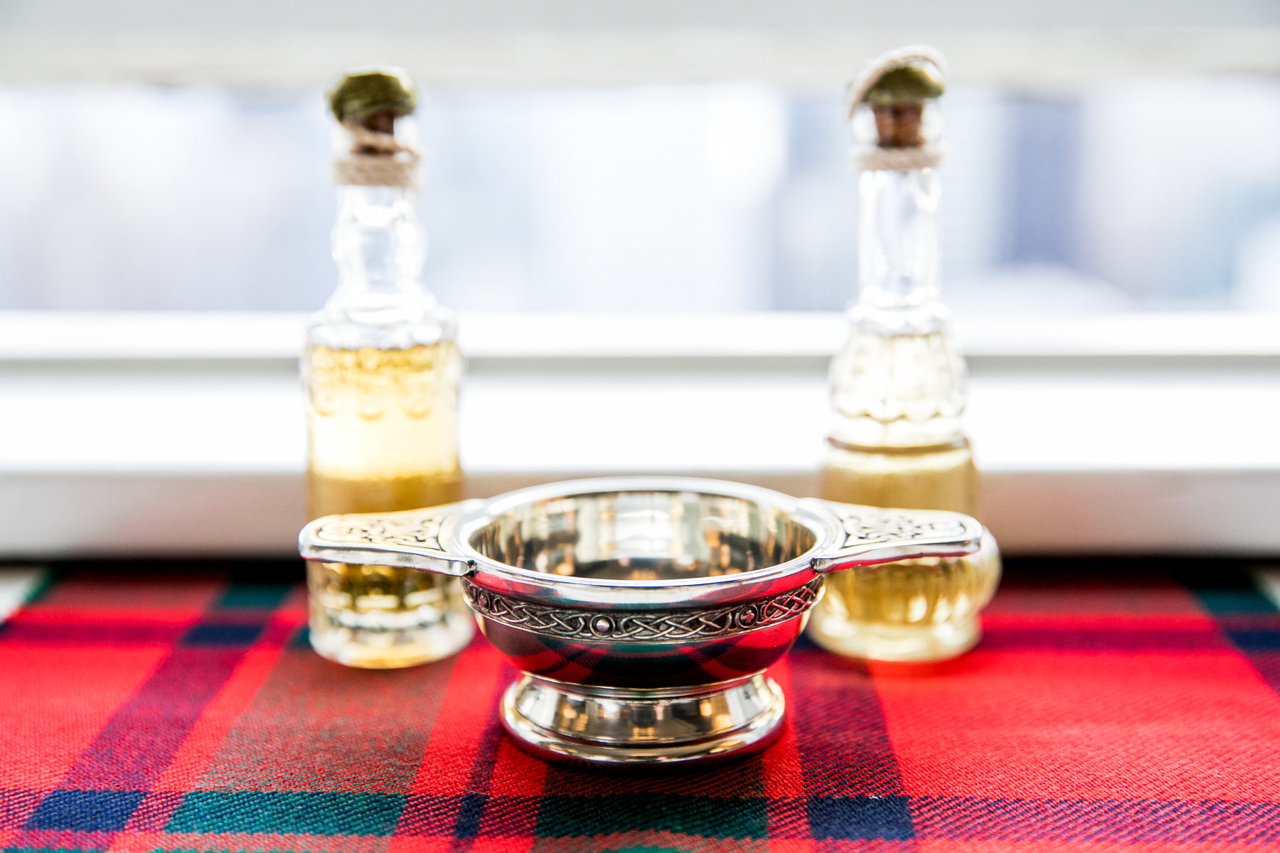 traditional scottish quaich for bay area wedding at swedenborgian church photographer