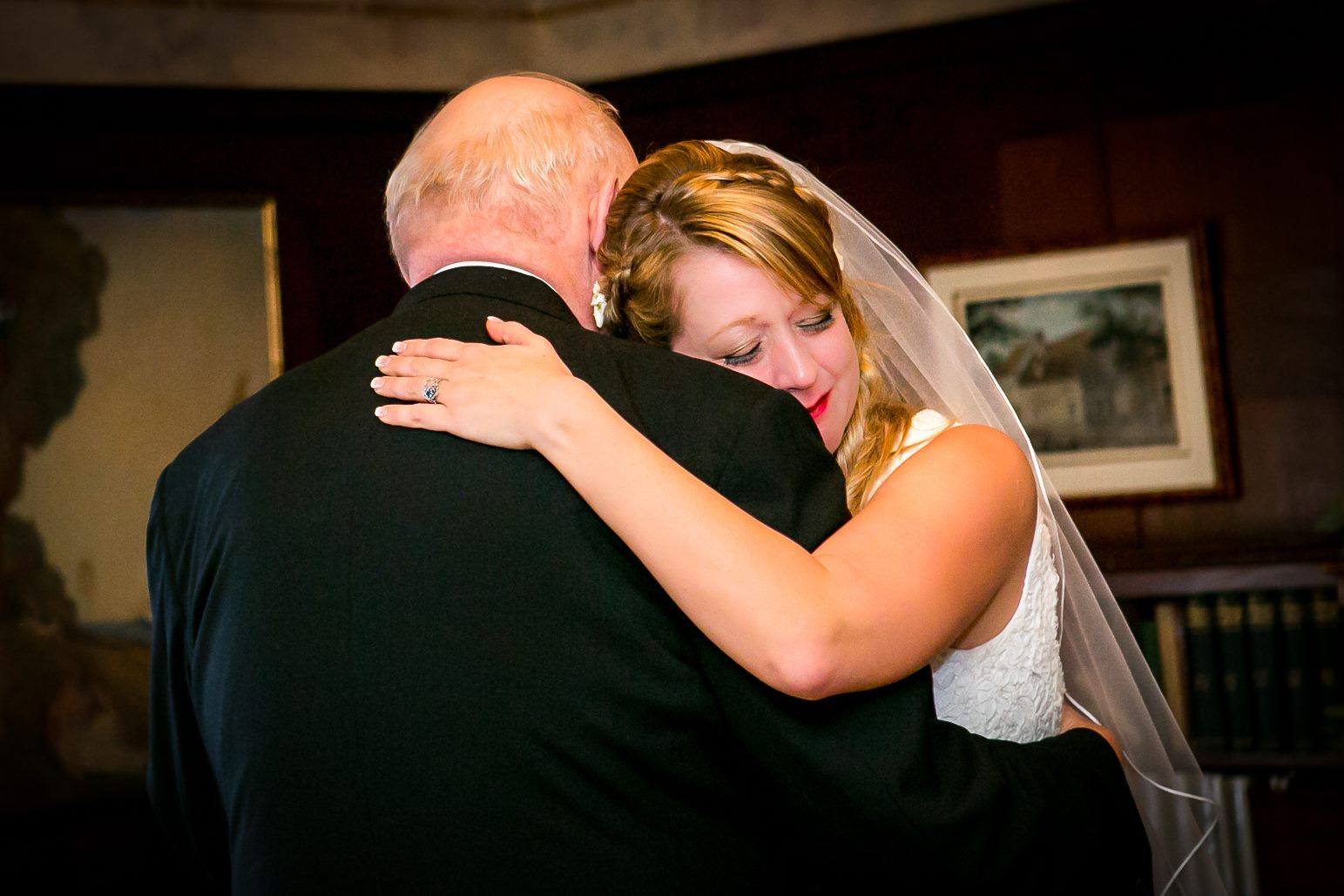 touching emotional moment father daughter dance at best photographer in bay area